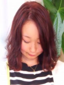 グラスカラー 紅茶色