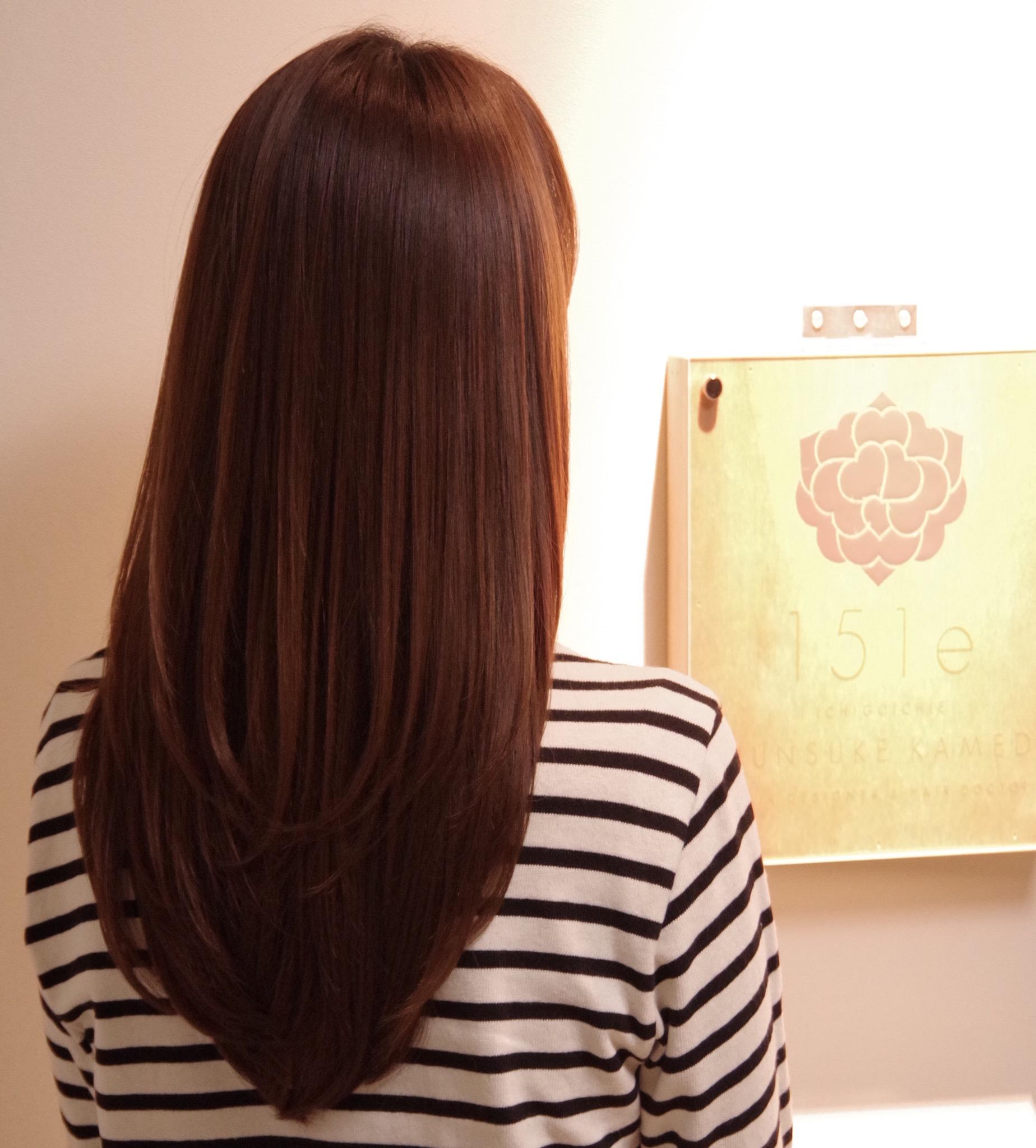 頭皮から毛先までしっとり潤うスリークロング